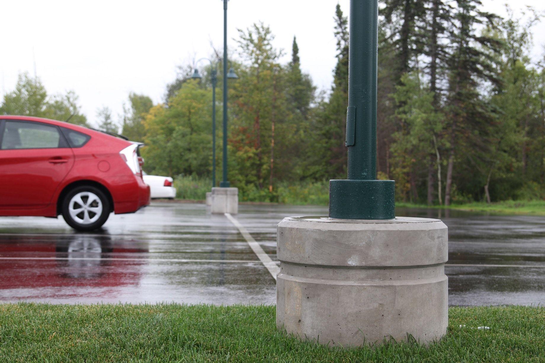 Benefits of installing precast light pole bases vs. sonotube
