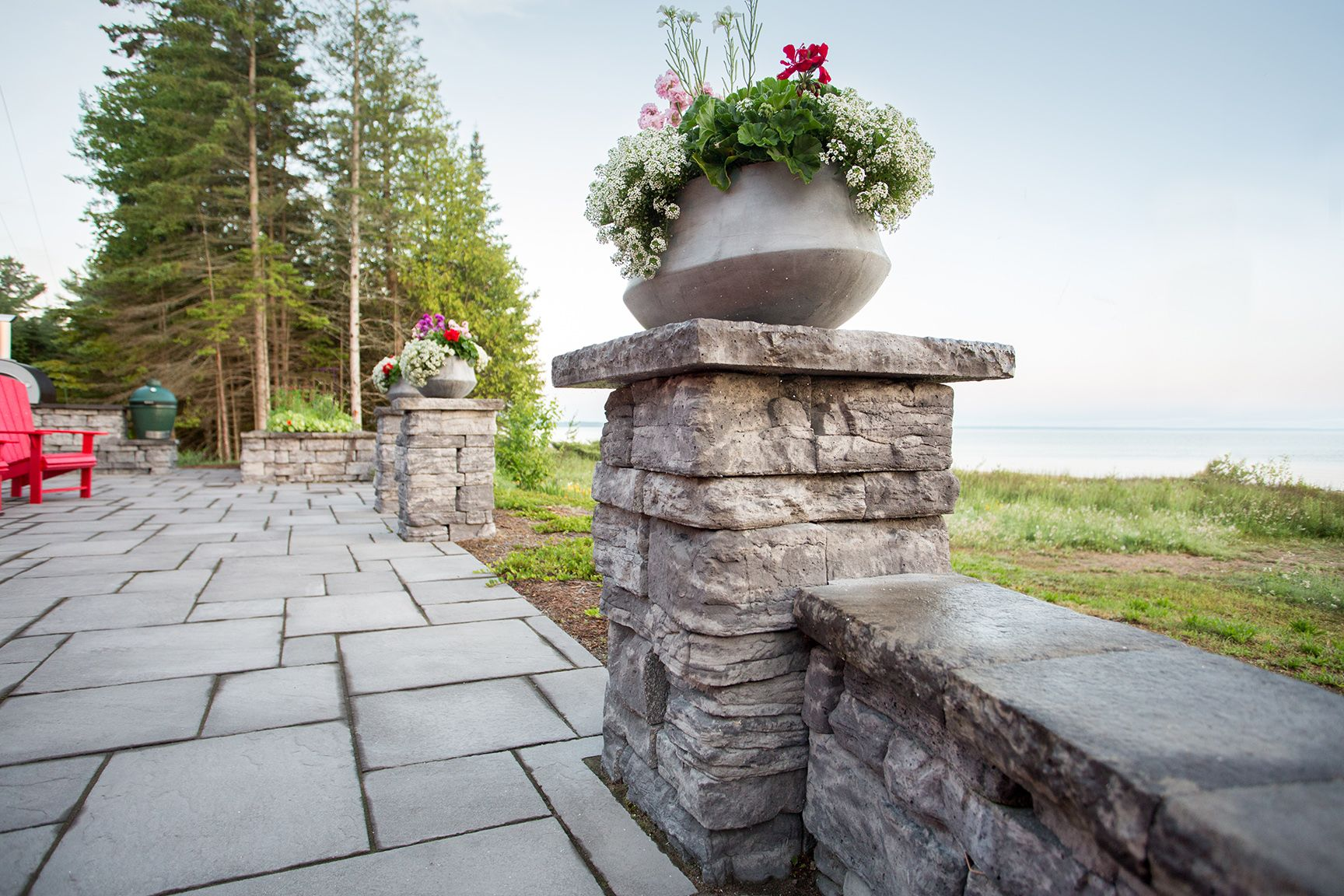 Columns and pillars by Rosetta Hardscapes