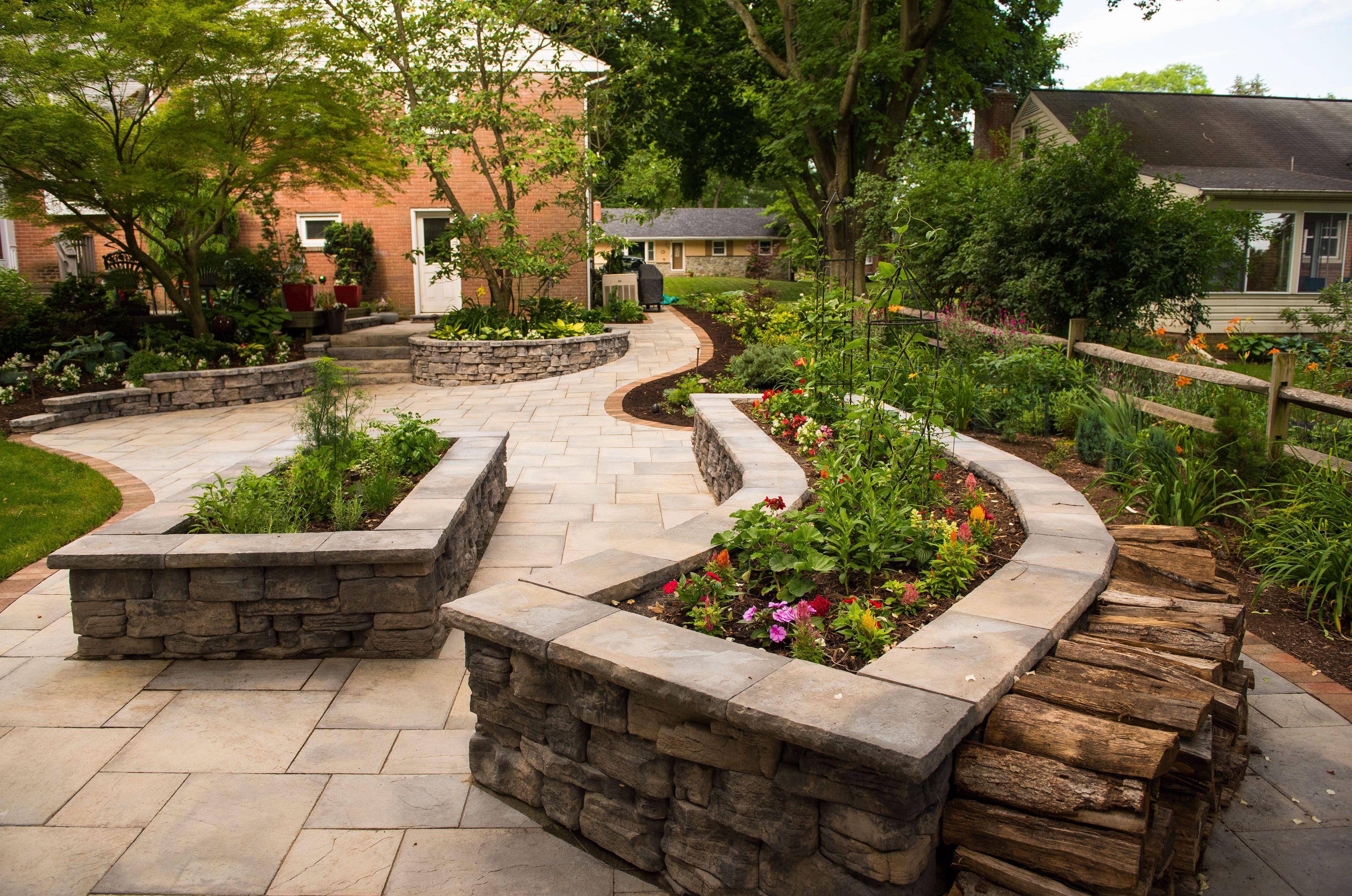 Garden walls by Rosetta