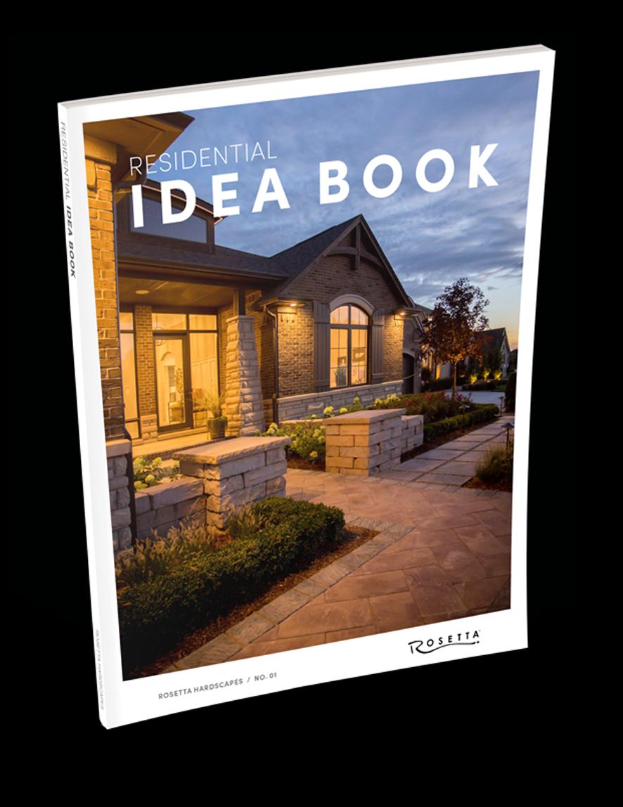 Download the Rosetta Hardscapes Idea Book