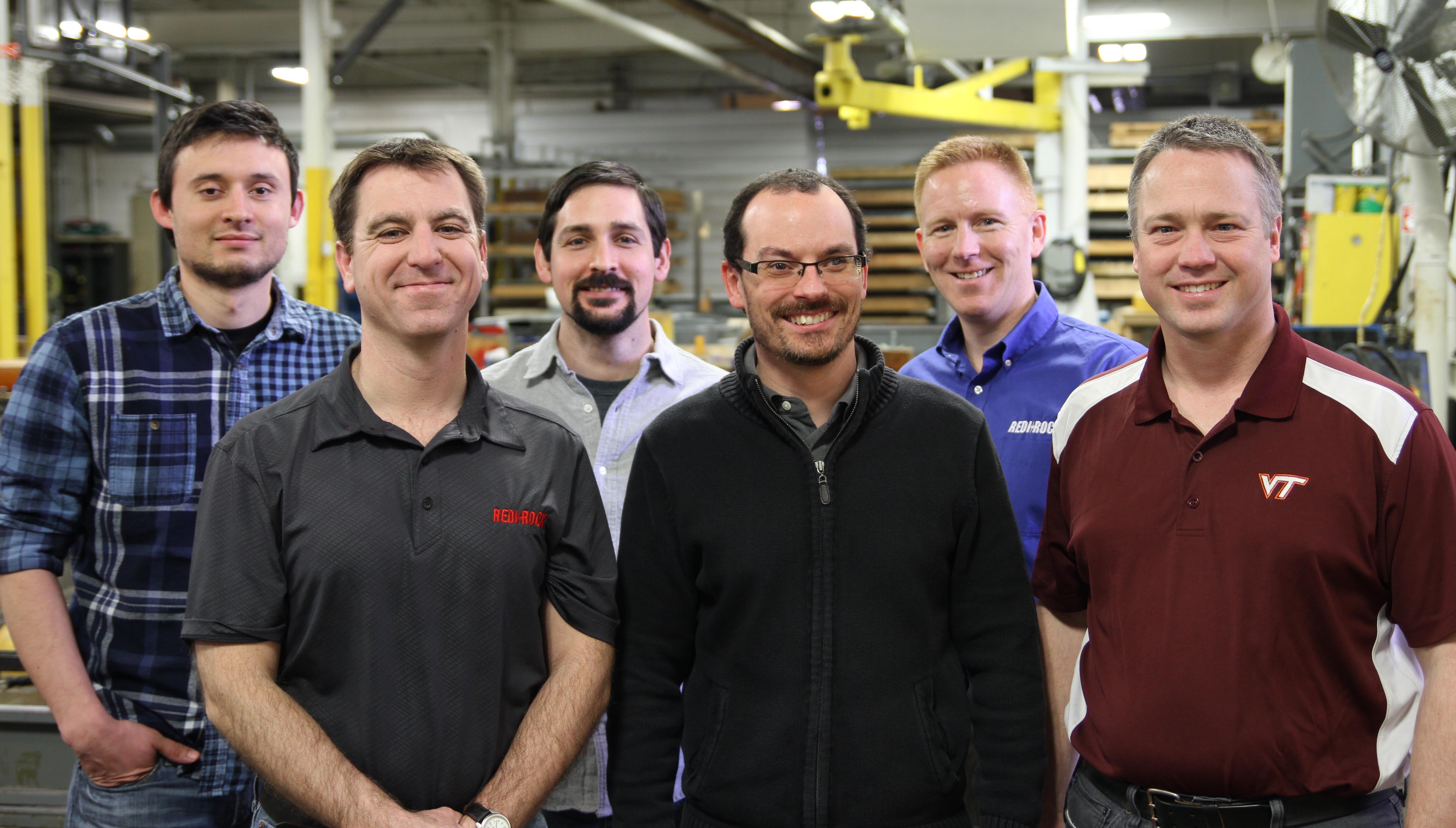 Pole Base Engineering team