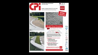 Turner Concrete Growth Redi-Rock press