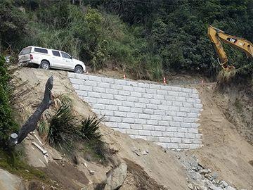 Redi-Rock for New Zealand Road Repair