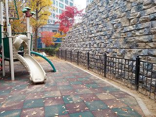 Redi-Rock for City Playground