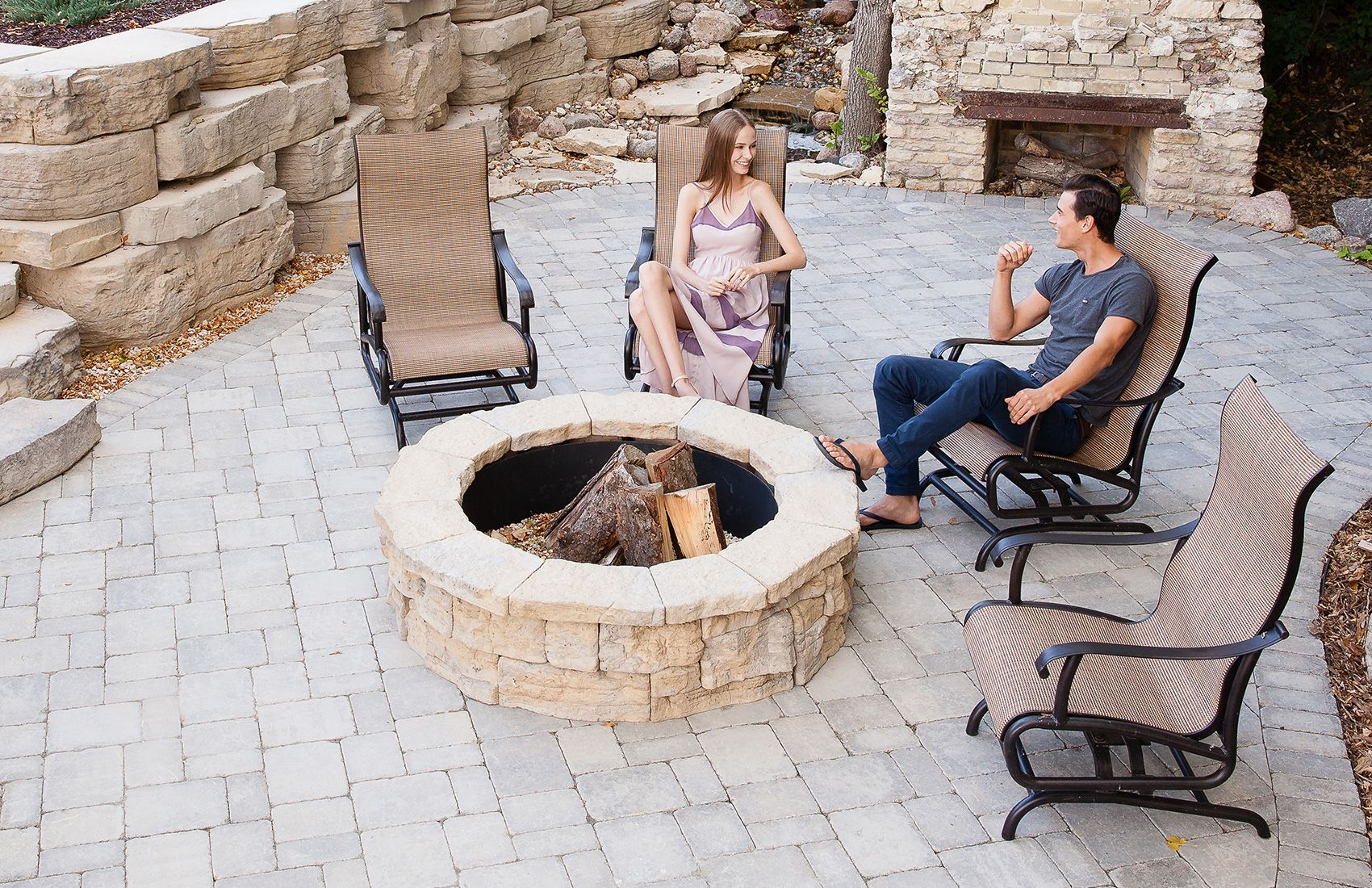 Rosetta fireplaces and fire pits