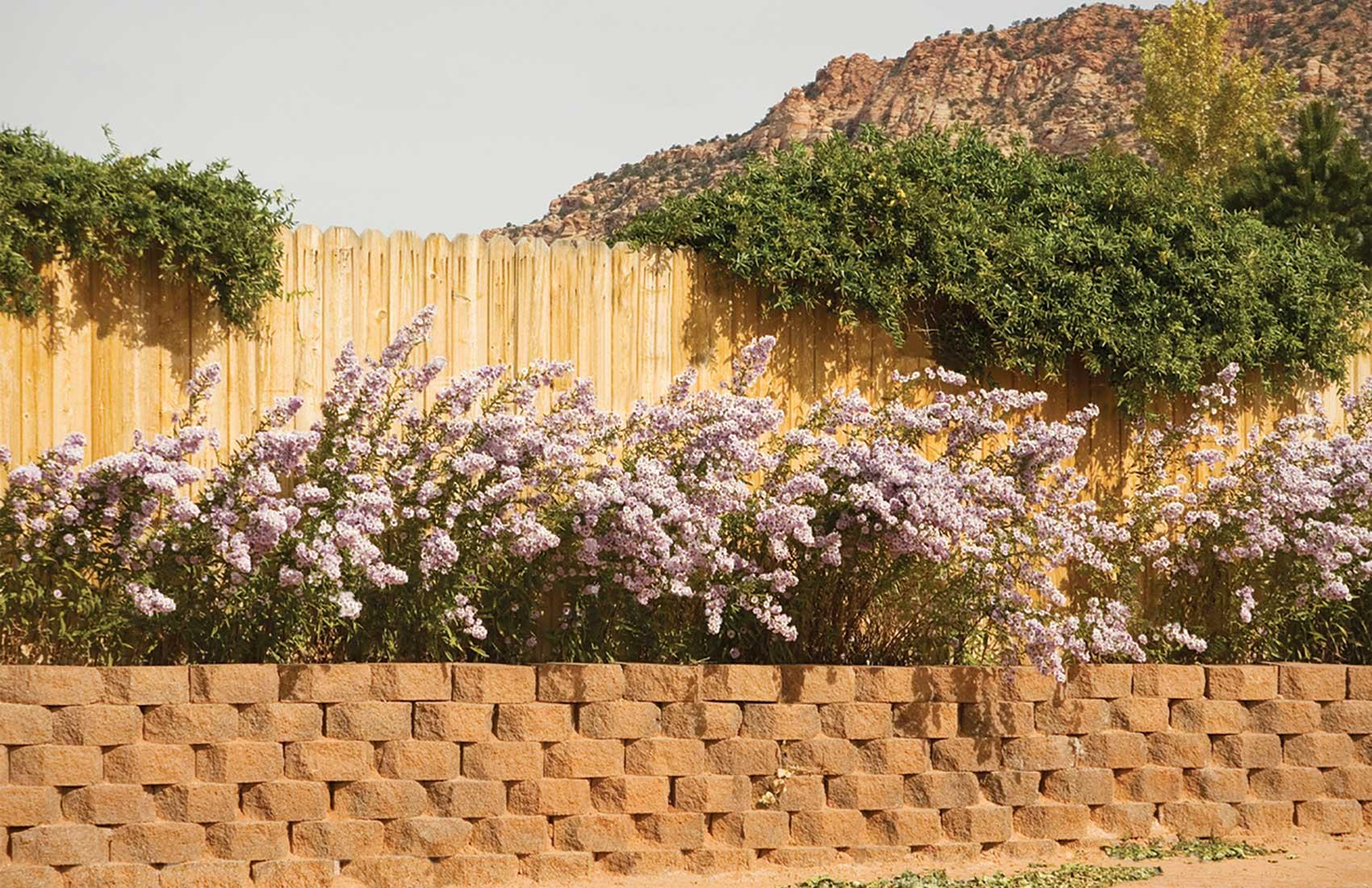 wetcast retaining wall blocks