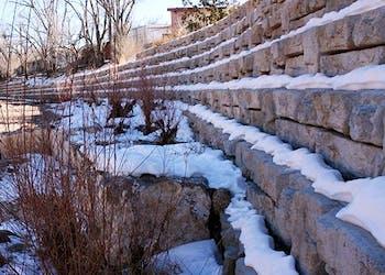 Santa Fe Chooses Redi-Rock Walls For River