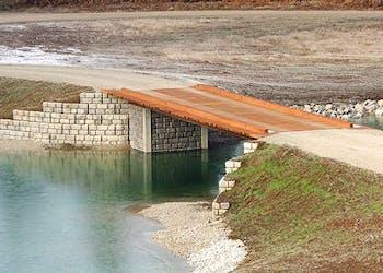 How to Design a Private Concrete and Wood Bridge