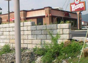 Gravity Walls Maximize Wendy's Parking
