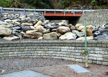 City Chooses Redi-Rock Walls for Landslide Repair