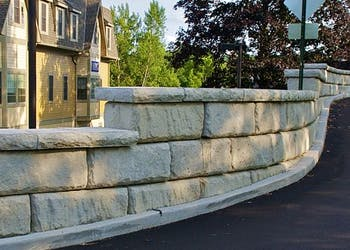 Engineers Use Retaining Walls for Site Development