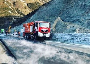 Redi-Rock Chosen for Emergency Landslide Repair