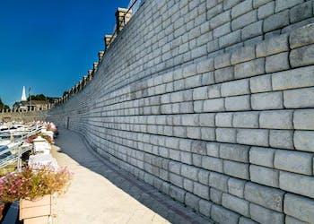 Gravity Walls Protect Marina & Homes