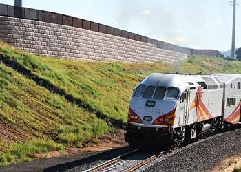 Bridge Abutments for  Busy Commuter Rail Line
