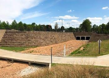 Retaining Walls Allow City to Expand Bridge