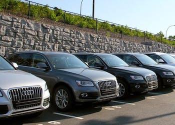 Redi-Rock Walls Used to Remodel Audi Dealership
