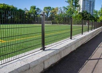 Toronto School Uses Redi-Rock For Athletic Field