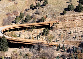 Building Bridges for Steeply Graded Roads