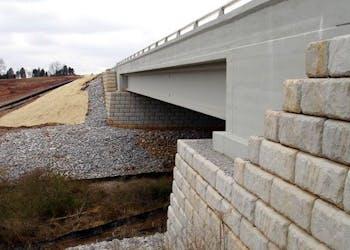 Segmental Retaining Walls For Bridge Construction