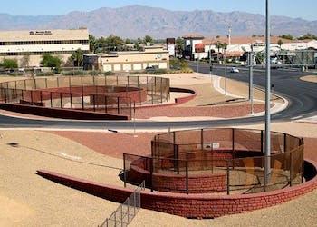 Freestanding Walls for Freeway Landscape