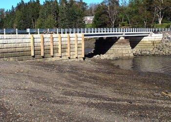 Unique Bridge Repair Using GRS Wall Solution