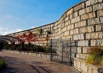 Liberty National Golf Course Retaining Walls