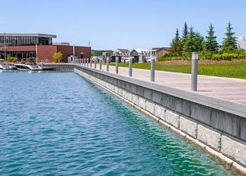 Friday Harbour Resort Uses 38,000 blocks