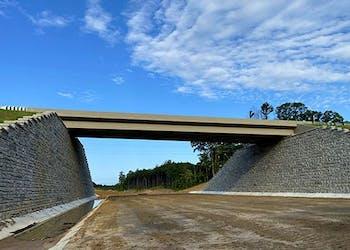 Tall Reinforced Walls Create Mining Access