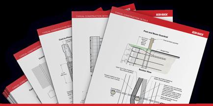 Mockup of Redi-Rock Construction Details Pages