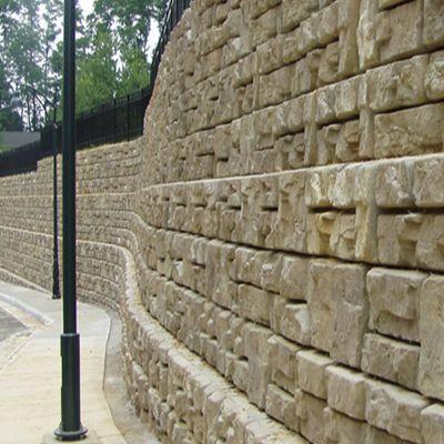 Ledgestone Gravity Wall