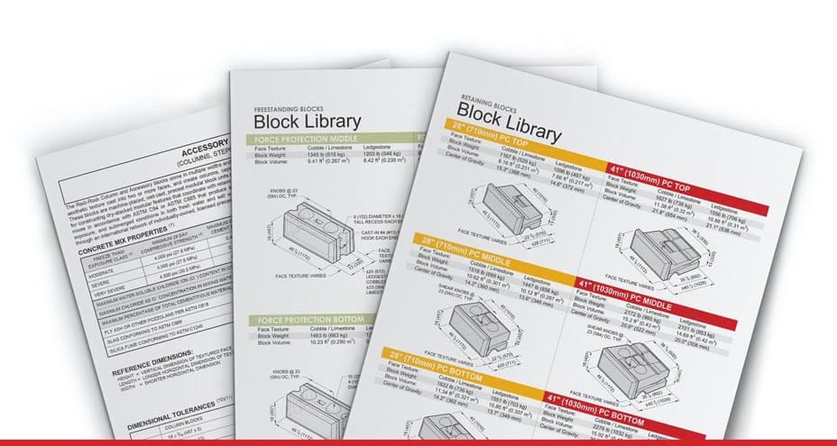 block library