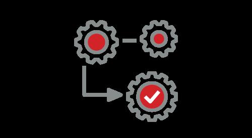 Illustration of 3 gears