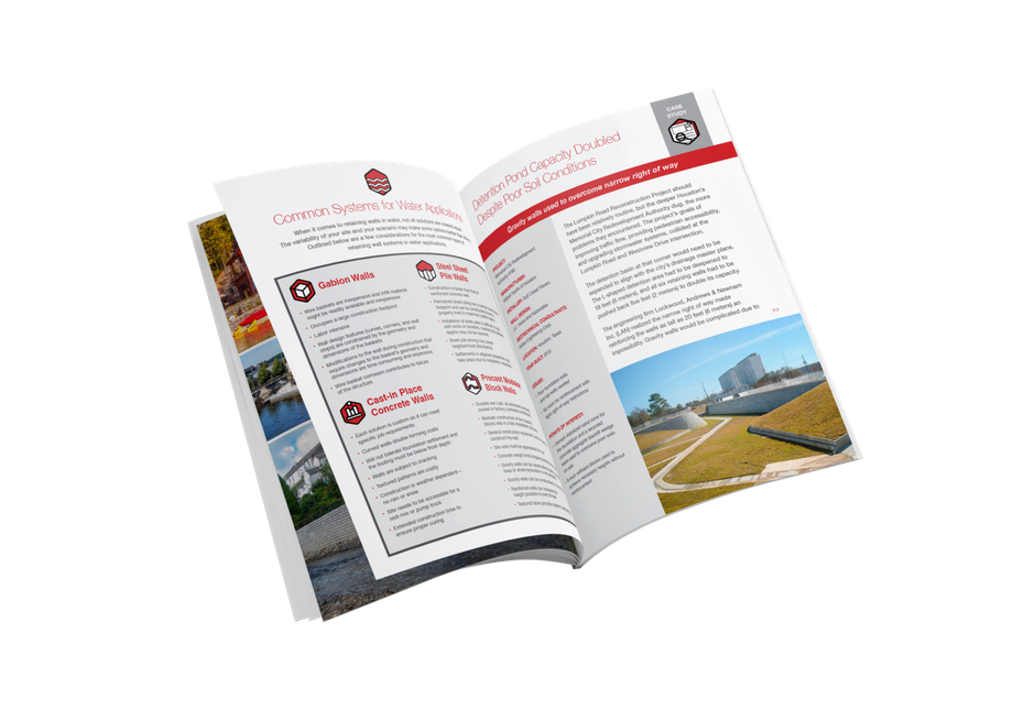 Mock-up of water application e-book