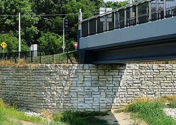 Retaining Wall Puts Community Master Plan in Place