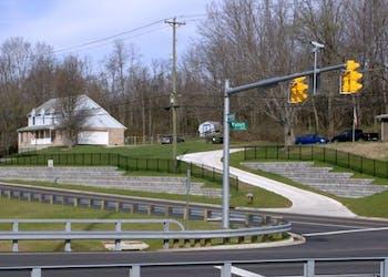 Gravity Retaining Walls for Ohio Road Widening